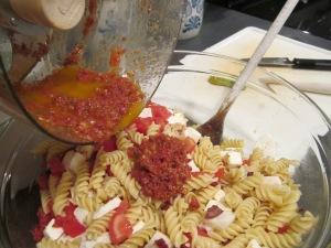 sun dried tomato add dressing
