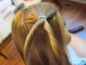 Rope Braid Step 2