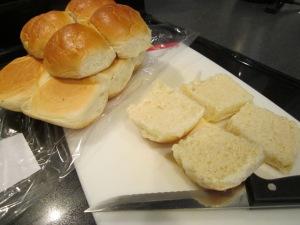 ham sandwiches rolls