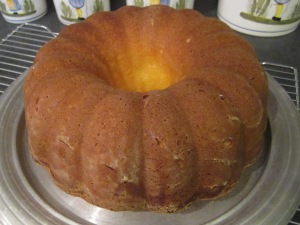 pound cake finished