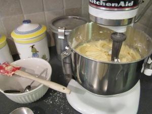 pound cake mixer