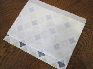 gift card pouch fusible web
