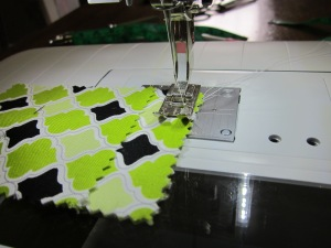 gift card pouch sewing start