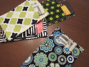 gift card pouches finished