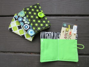 teacher gift card 2 pocket wallet