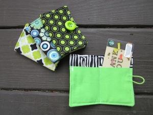 teacher gift card 2 pocket wallet