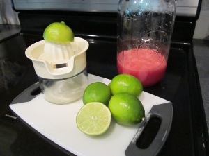 watermelong margarita juices