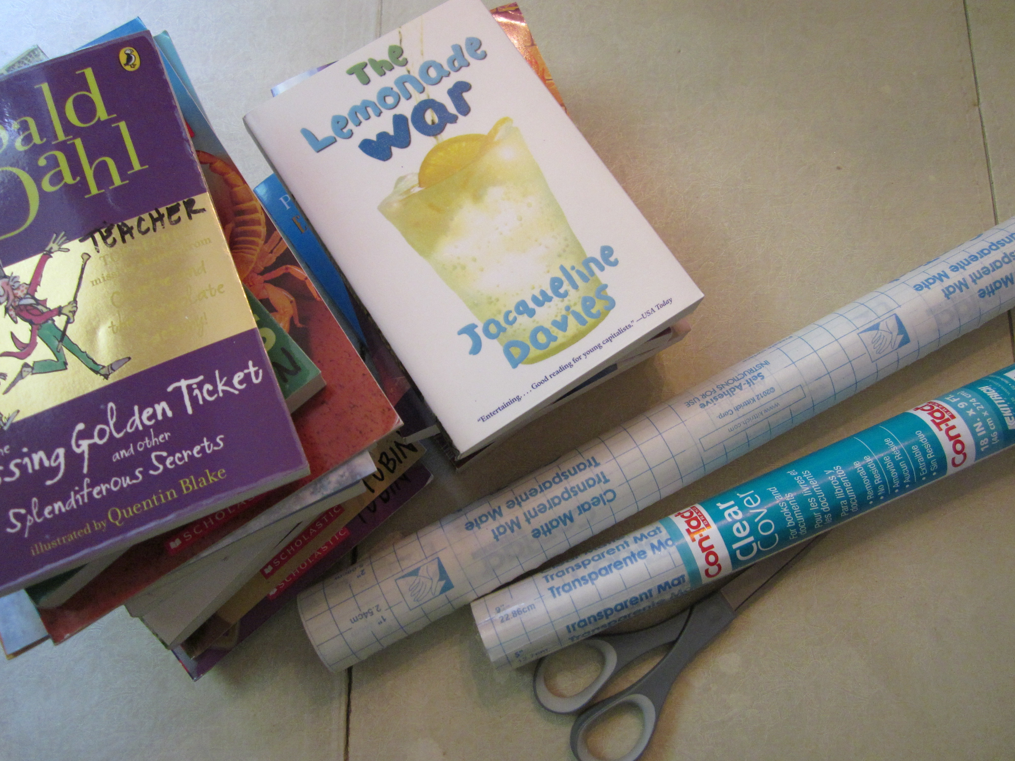 Book Covering Materials ~ Covering books theroommom