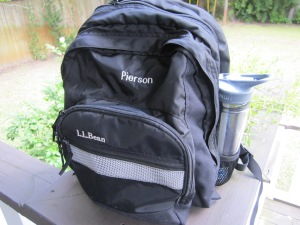 LL Bean backpack