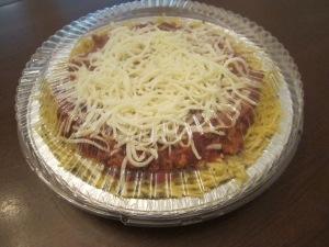 spaghetti pie freezing