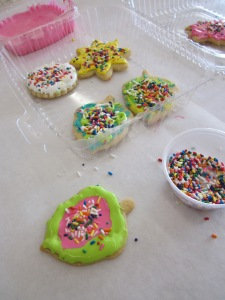 cookie party cookie box