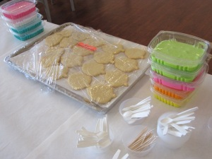 cookie party icing supplies