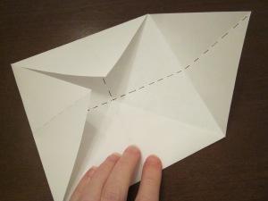 fortune teller fold 2