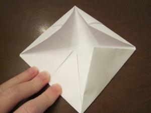 fortune teller fold 3