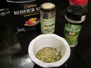 herb dip mix ingredients