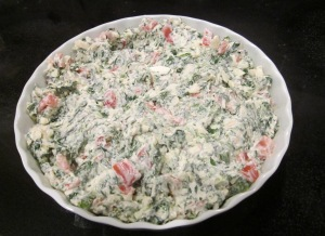 spicy spinach dip pre baked