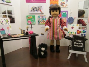 american girl art gallery