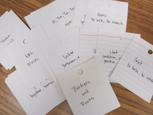 prefixes and roots flashcards