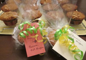 teacher appreciation breakfast muffin