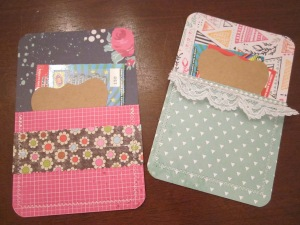paper pockets finished set 1