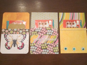 paper pockets finished set 3