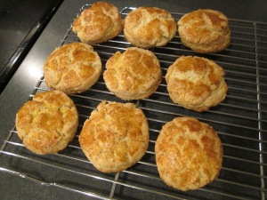 strawberry shortcake biscuits baked