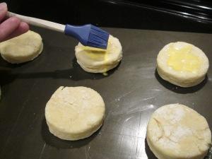 strawberry shortcake brush biscuit top