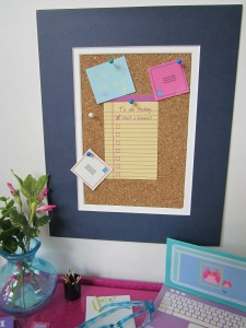 American Girl bulletin board