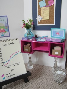 American Girl office desk