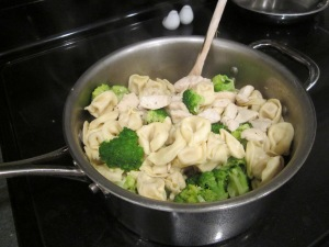tortellini broccoli chicken