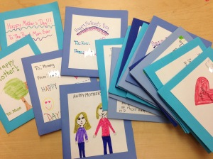 mothers day pocket folders