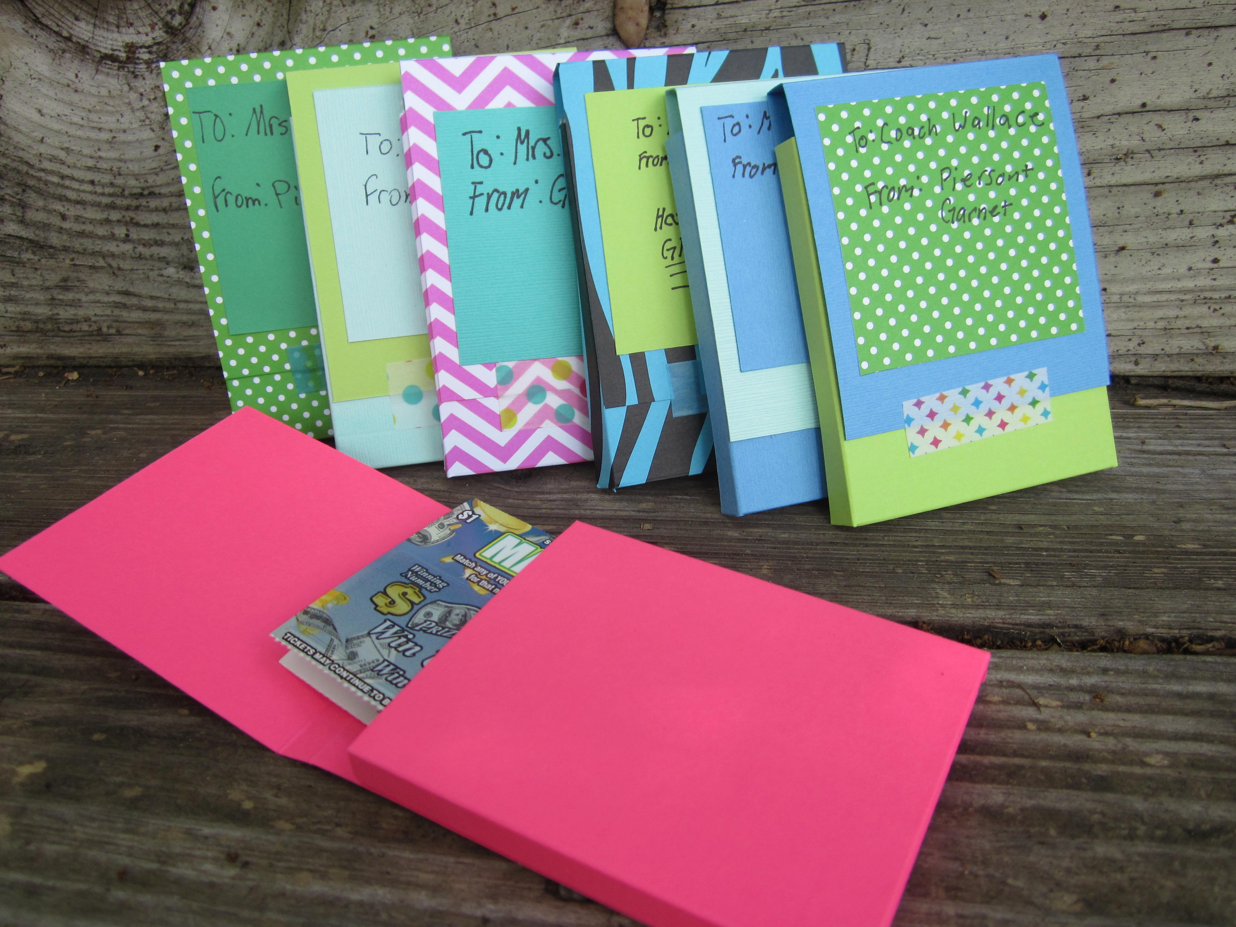 teacher gift card boxes