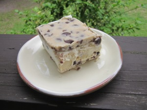 cookie dough ice cream bar