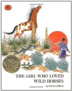 girl who loved wild horses