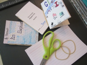mini books materials