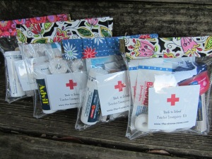 back to school teacher emergency kit 2016