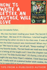 fisher author letter tips pin