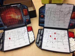 longitude latitude battleship map skills games #mapskills