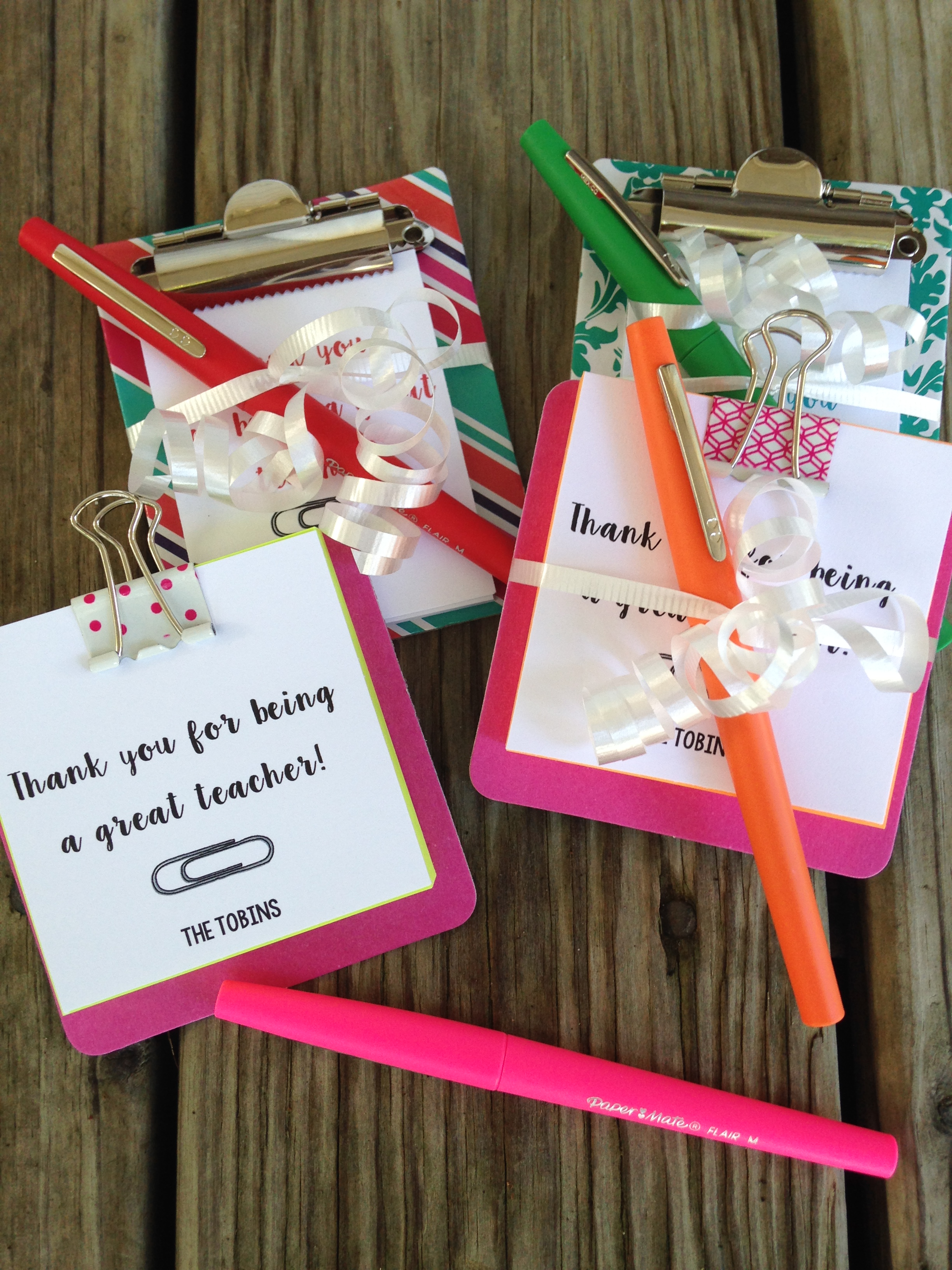 Classroom Keepsake Ideas ~ Simple teacher appreciation gift idea theroommom