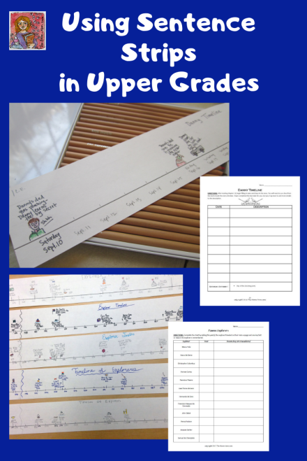 sentence strips in upper elementary classrooms