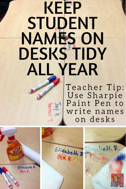 Sharpie Paint Pen Teacher Hack | TheRoomMom