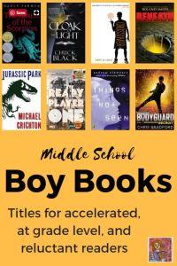middle school boy books
