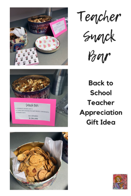 back to school teacher snack bar teacher appreciation gift idea