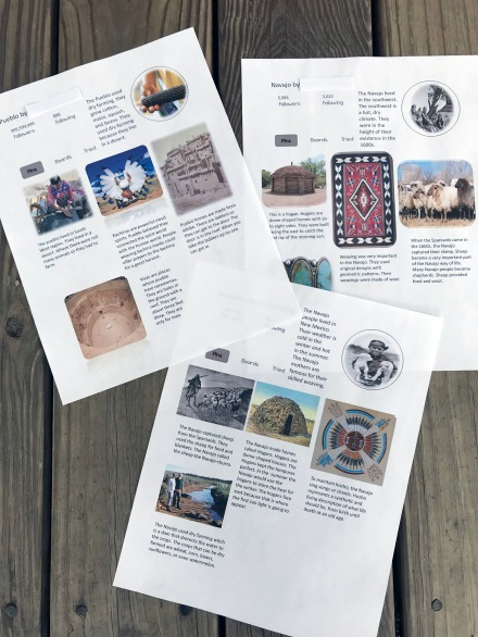 Pinterest Writing Activity for social studies or novel studies