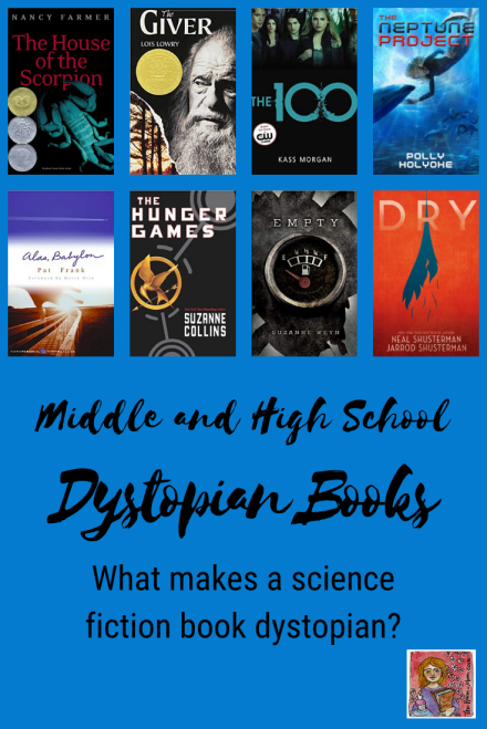 science fiction dystopian book genre for students