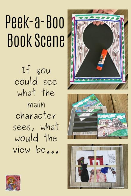 Peek a Boo Book Scene