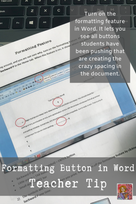 Student help pages for Formatting in MS Word