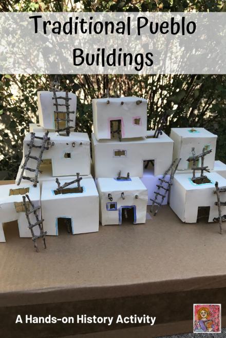 Student Pueblo Building Activity