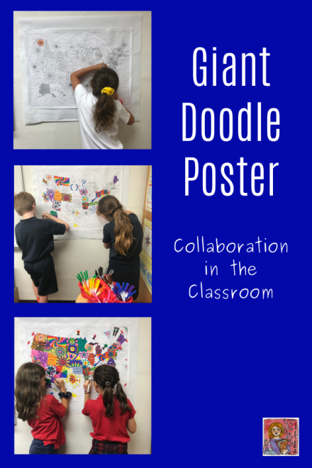 doodle poster group activity collaborative learning
