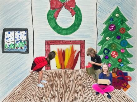 Holiday Scene Craftivity